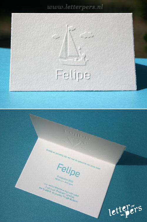 letterpers_letterpress_geboortekaartje_preeg_relief_Felipe_k