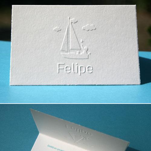 letterpers_letterpress_geboortekaartje_preeg_relief_Felipe_ue