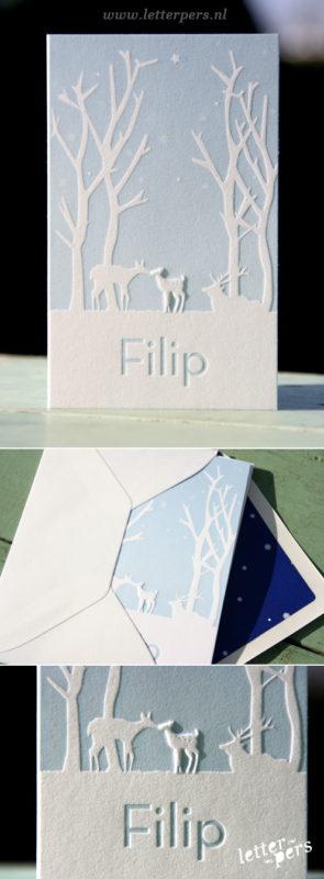 letterpers_letterpress_filip_hertjes_winterlandschap_preeg_enveloppen