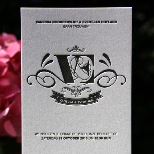 letterpers_letterpress_trouwkaart_Vanessa-en-Evert-jan_klassiek_preeg_mooi_ue