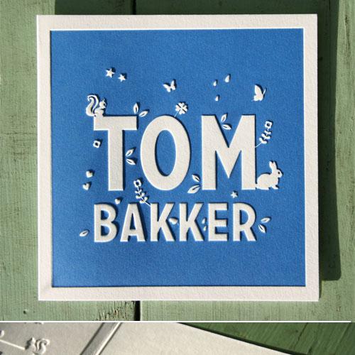 letterpers_letterpress_geboortekaartje_Tom_blauw_lief-kaartje_gevouwen_preeg_ue