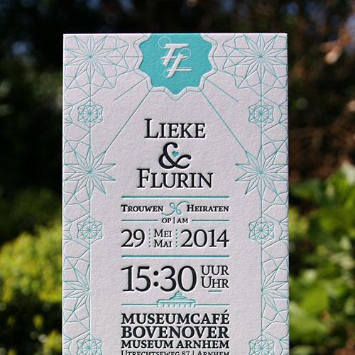 letterpers_letterpress_trouwkaart_Lieke_Flurin_geometrisch_uniek_ue
