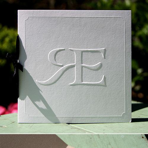 letterpers_letterpress_trouwkaart_ellen_roy_preeg_zwart_strik_goud_klassiek_bijzonder_ue