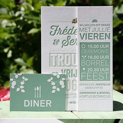 letterpers_letterpress_trouwkaart_Frédérique_serge_mint_goud_ue