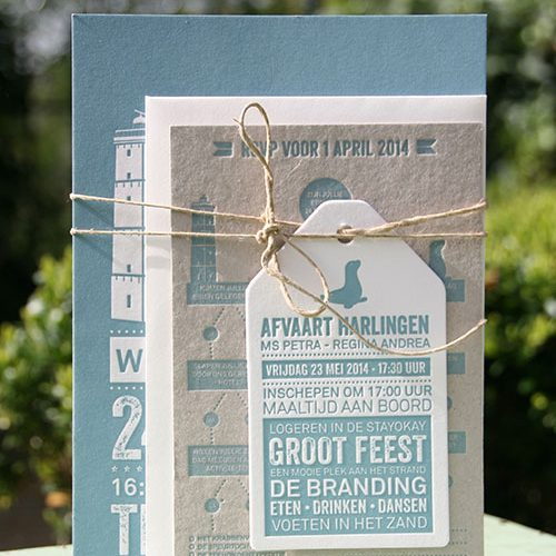 letterpers_letterpress_trouwkaart_rieke_jelle_prachtig_terschelling_compleet_brandaris_set_ue