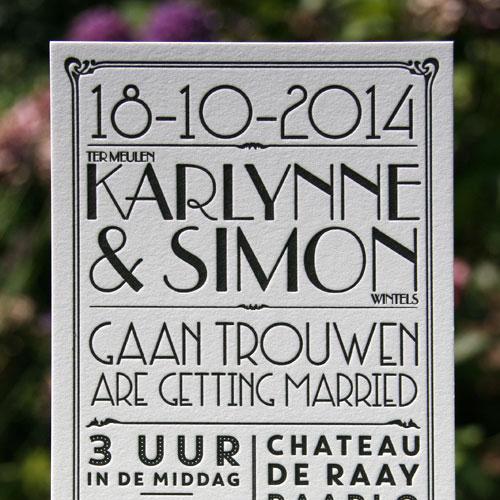 letterpers_letterpress_trouwkaart_wedding_card_bruiloft_vintage_handlettering_handgeschreven_jaren20_kraft_envelop_ue