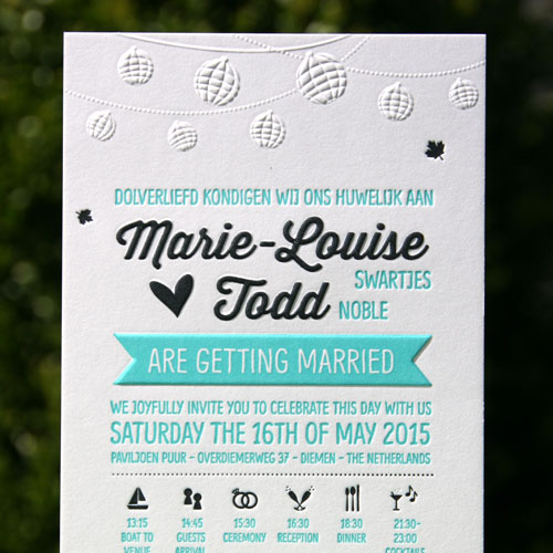 Letterpers_letterpress_trouwkaart_wedding_invitiation_fietsen_lampionen_ue