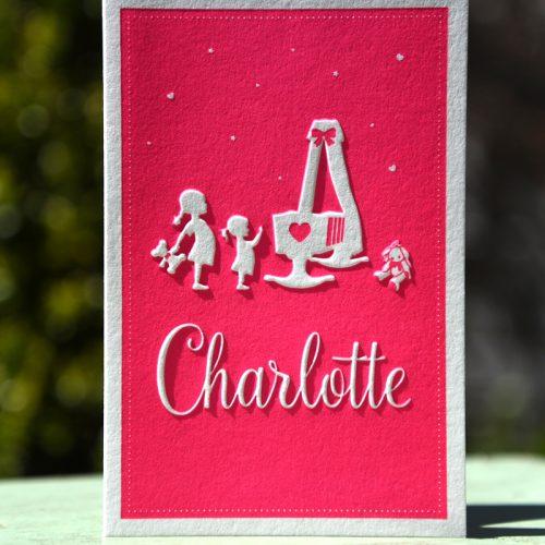 Letterpers-letterpress-geboortekaartje-Charlotte-zusjes-wieg-konijntje--2-0571-ue
