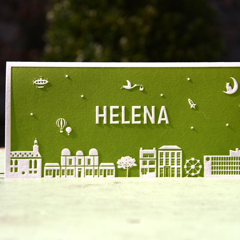 Letterpers_letterpress_geboortekaartje_Helena_skyline_Leiden-2-9172_ue