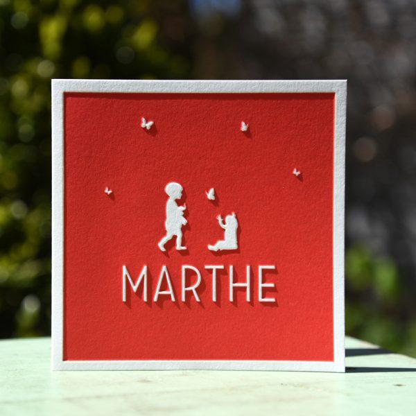 Letterpers_letterpress_geboortekaartje_Marthe_zusjes_silhouttes_vlinders-2-0587