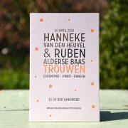 Letterpers_letterpress_geboortekaartje_trouwkaart_Hanneke_Ruben_folie_fluor_neon_orantje-2-9676_ue