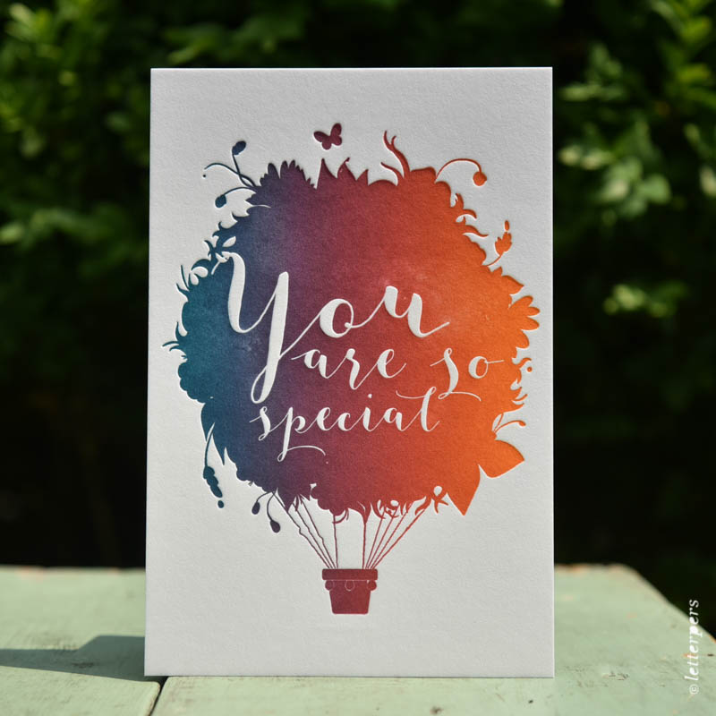 You Are So Special Letterpersnl