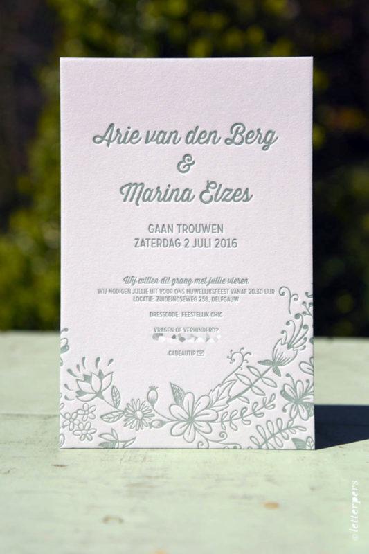 Letterpers-Letterpers-geboortekaart-Letterpers-letterpress-geboortekaartje-trouwkaart-Arie-Marina-bloemen-2-0516