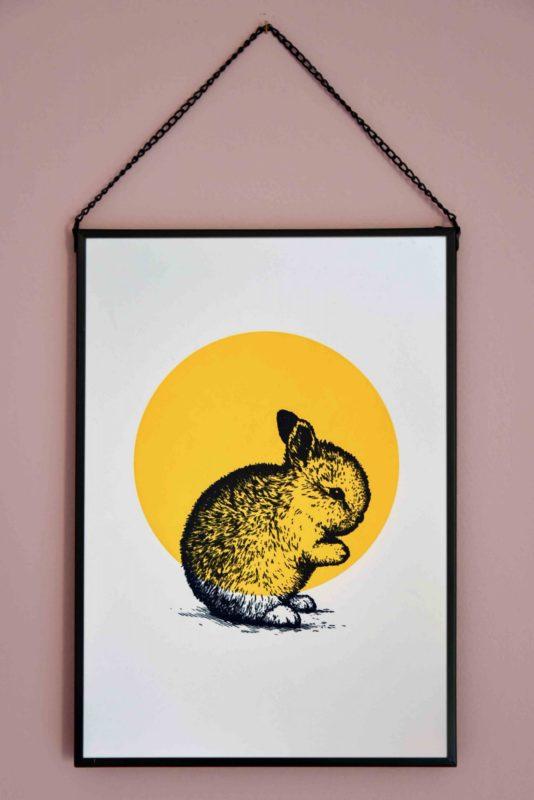 DSC_3823_Letterpers_letterpress_poster_konijn_bunny_childrenroom