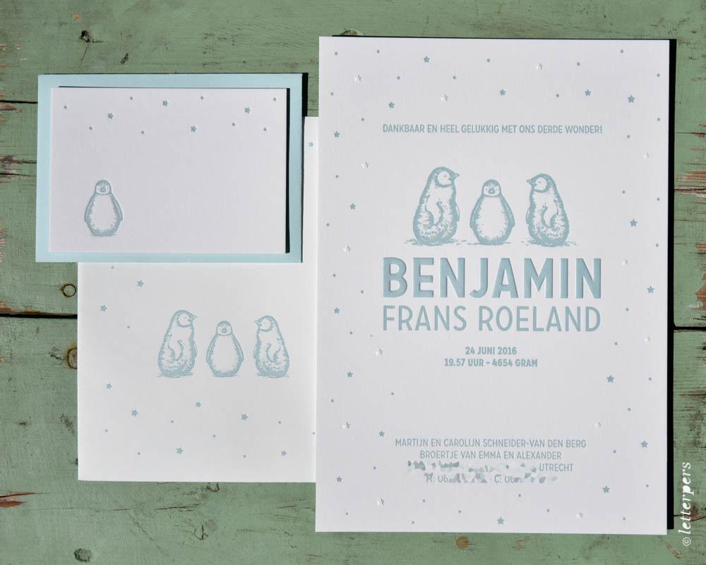 Letterpers-Letterpers-geboortekaart-DSC_3708-bewerkt_Benjamin_poster_pinguins