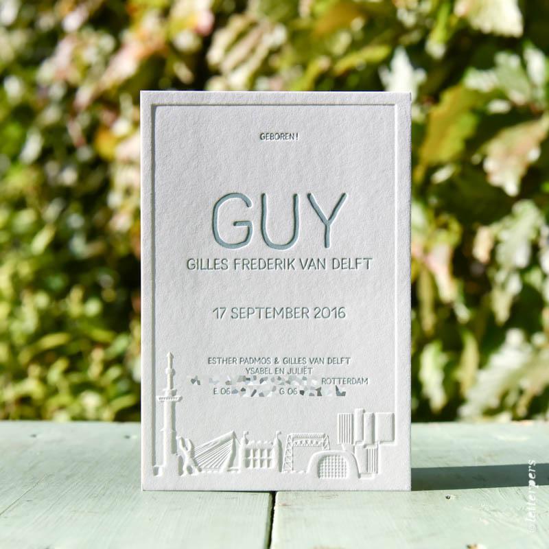 geboortekaartje-letterpress-guy