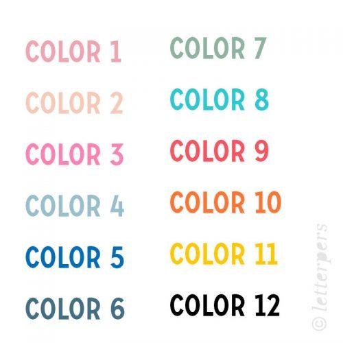 Geboortekaartje_kleur_letterpers_letterpress