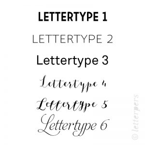 Letterpers fonts