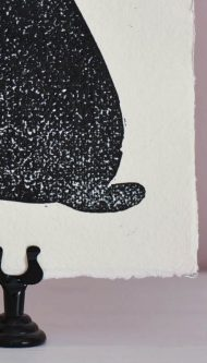 Letterpers-Letterpress-geboortekaart-Letterpers-Letterpress_poster_cat_handmade_paper_Linoleum_poes-DSC_0092