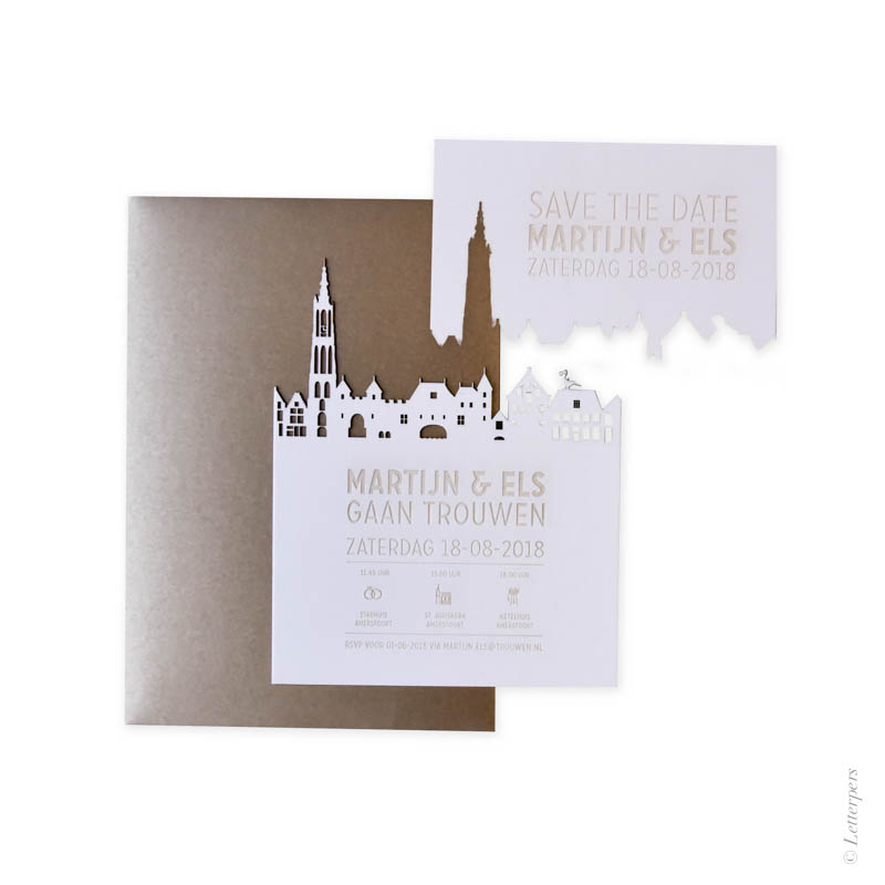 skyline, amersfoort, letterpers, letterpress