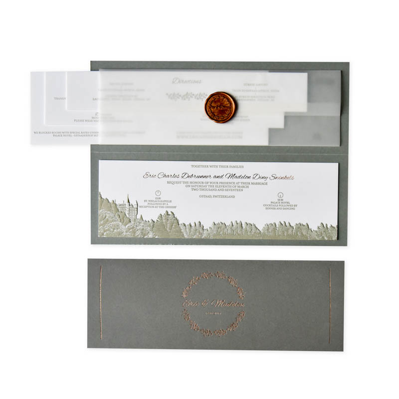 letterpers letterpress trouwkaart gstaat
