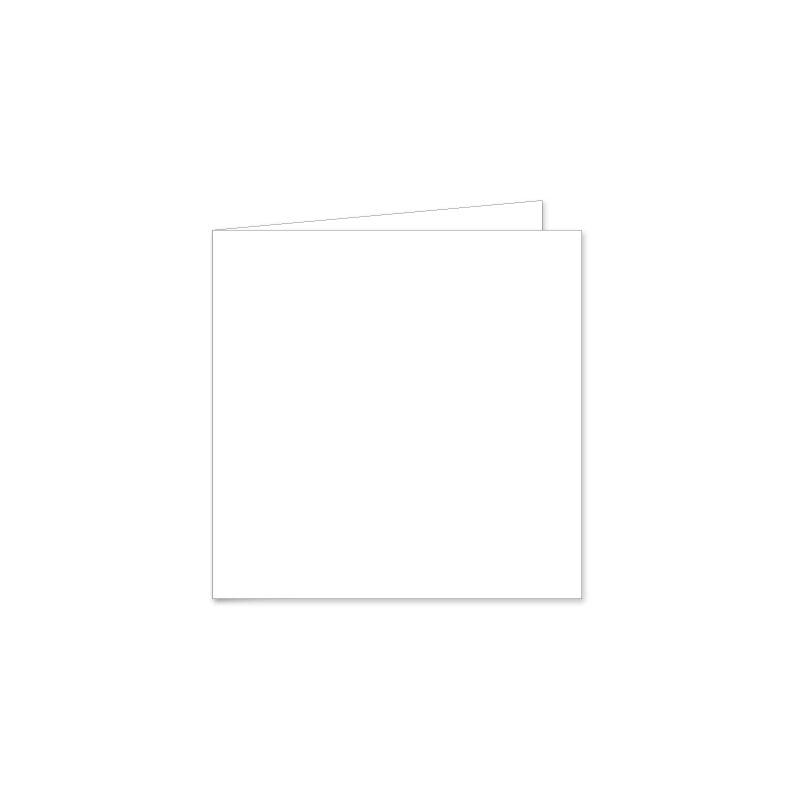 Prijs geboortekaart trouwkaart 13 x 13 cm gevouwen