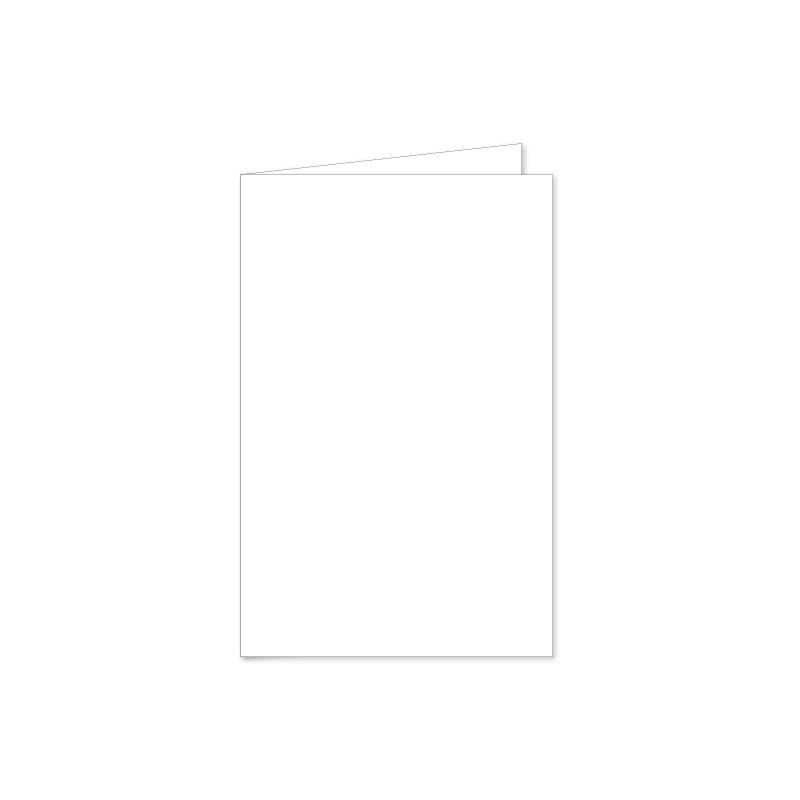 Prijsindicatie Letterpers dubbele openvouwbare kaart 11 x 17 cm