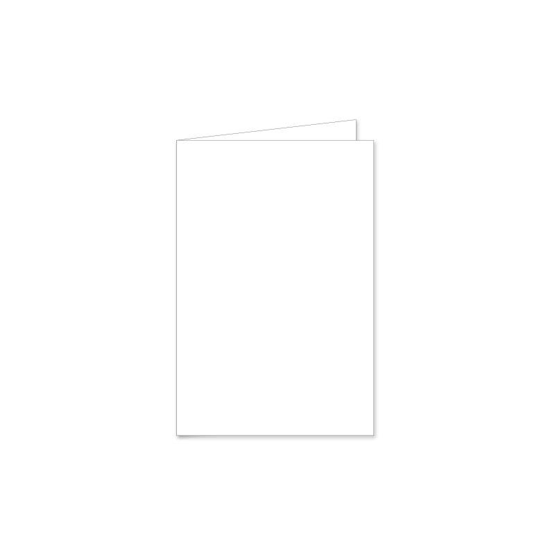 10 x 15 cm kaart gevouwen