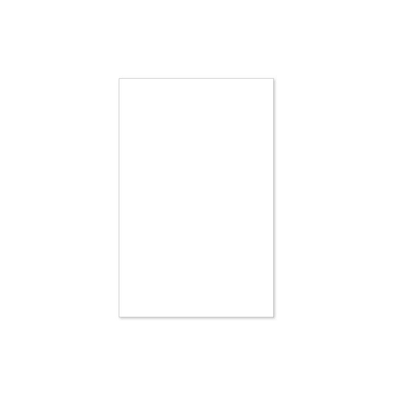 Enkelzijdige kaart 11 x 17 cm prijsindicatie