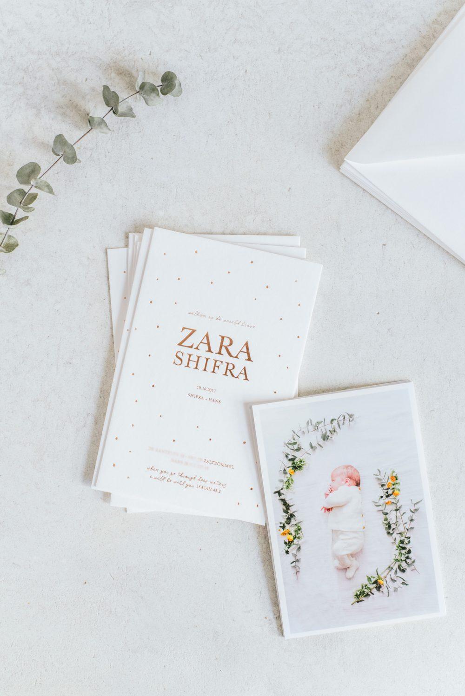Hot foil letterpers card