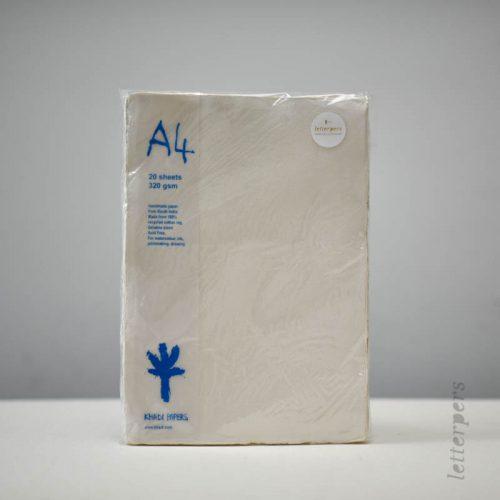 Handgeschept papier uit India bestel je bij Letterpers