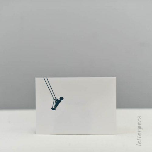 Enveloppe met kleur - Letterpers