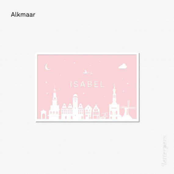 Skyline Alkmaar de waag en andere mooie historische gebouwen