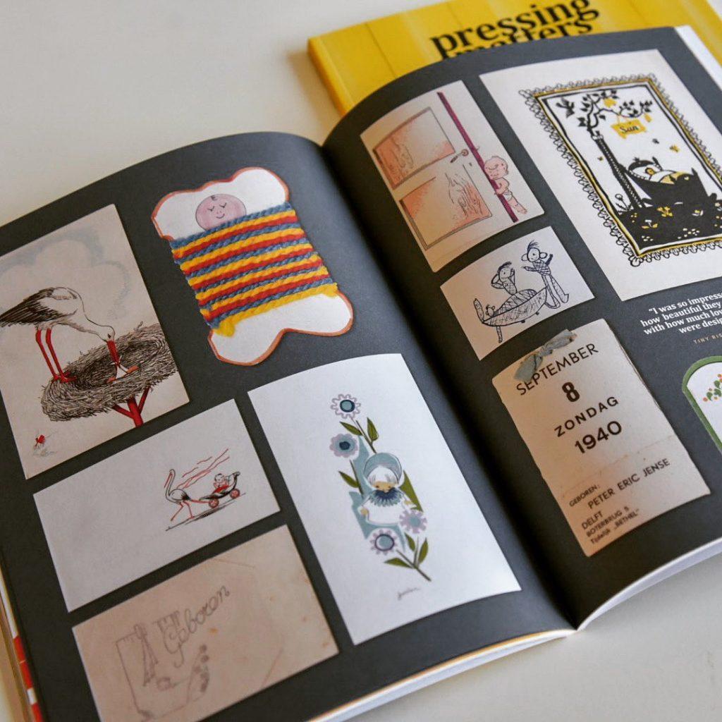 pressing matters magazine binnenkant