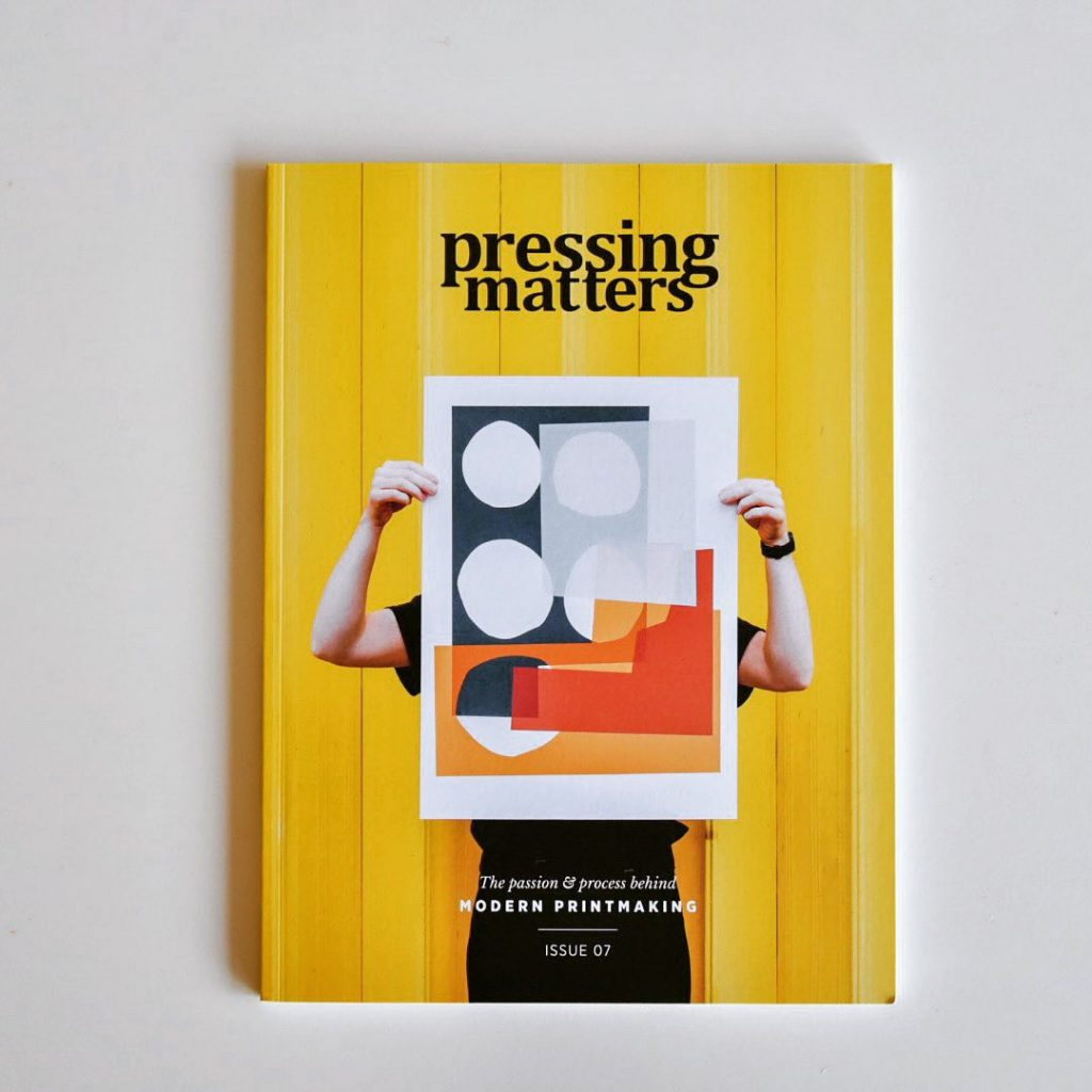pressing matters magazine voorkant